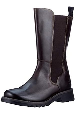 Fly London FLY London Damen RELM641FLY Chelsea-Stiefel, DK.Brown