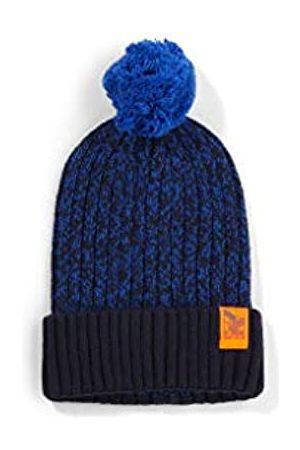s.Oliver Jungen Strickmütze mit Bommel dark blue knit 51-53