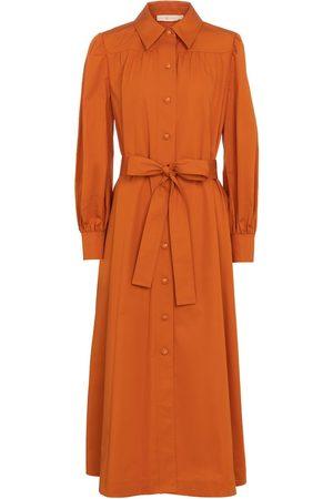 Tory Burch Damen Freizeitkleider - Hemdblusenkleid aus Baumwolle