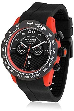 Bultaco Herren Chronograph Quarz Uhr mit Kautschuk Armband H1PO48C-SB2_Negro