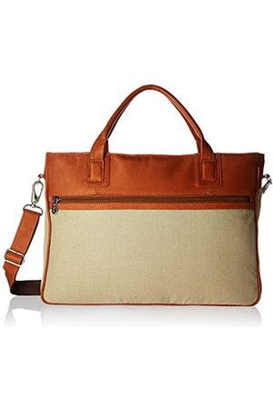 Piel Piel Leather Dünne Laptoptasche (Braun) - 3074
