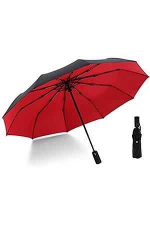 Krago Krago Reise-Regenschirm, winddicht, automatisches Öffnen und Schließen, Mini-Regenschirm mit Geschenk-Box