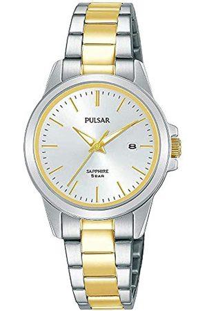 Pulsar Pulsar Quarz Damen-Uhr Edelstahl mit Metallband PH7507X1