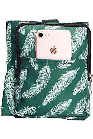 QEES Reise-Handgepäck-Organizer, Mehrzweck-Gepäckgurte mit verstellbarer Größe, einfaches Bungee für Tragetasche, Seesack, Koffer, kleines sicheres Reisezubehör (grün