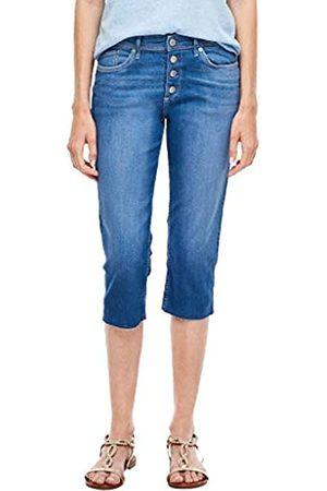 s.Oliver S.Oliver Damen Slim Fit: Capri-Jeans 34