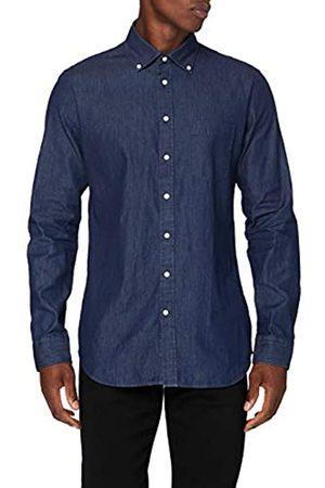 Seidensticker Herren Business Hemd - Bügelleichtes Hemd mit sehr schmalem Schnitt - X-Slim Fit - Langarm - Kent-Kragen - Brusttasche - 100% Baumwolle