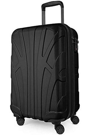 SUITLINE Suitline Handgepäck Bordgepäck Koffer mit Laptoptasche und Erweiterung, Business Trolley, TSA, 55 cm, ca. 38 Liter
