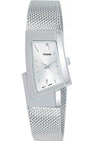 Pulsar Quarz Damen-Uhr Edelstahl mit Metallband PJ5425X1