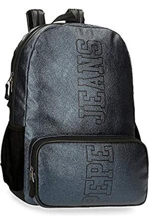 Pepe Jeans Pepe Jeans Chemistry Anpassbarer Laptop-Rucksack 32x44x15 cms PU und Polyester 15