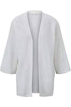 TOM TAILOR TOM TAILOR Denim Damen Strick Kimono Strickjacke, 10332-Off White