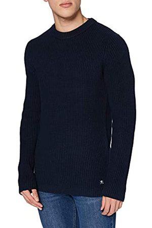 TOM TAILOR TOM TAILOR Denim Herren Crew-Neck Pullover, 10668-Sky Captain Blue