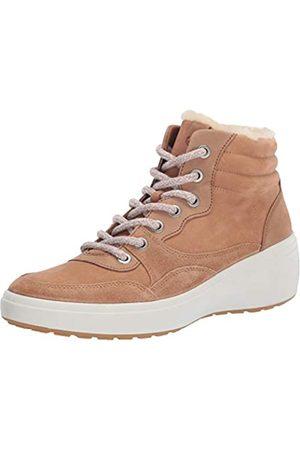 Ecco ECCO Damen Soft 7 Wedge Tred Winter Boot Stiefelette, Kaschmir/Kaschmir/Whiskey Wildleder