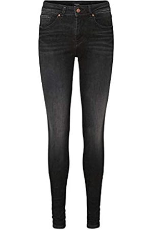 VERO MODA Female Slim Fit Jeans VMLUX Normal Waist M30Black