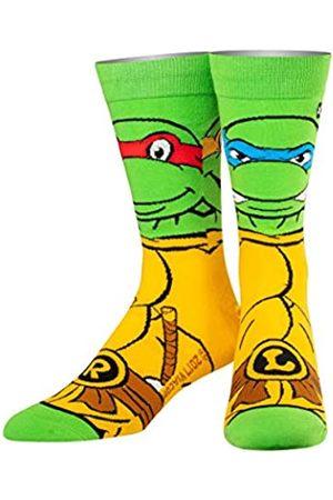 ODD SOX Herren Socken & Strümpfe - Unisex Crew-Socken - Retro Schildkröten (Teenage Mutant Ninja Turtles)