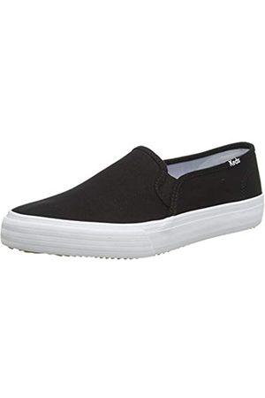 Keds Damen Double Decker Canvas SMU Sneaker, Black