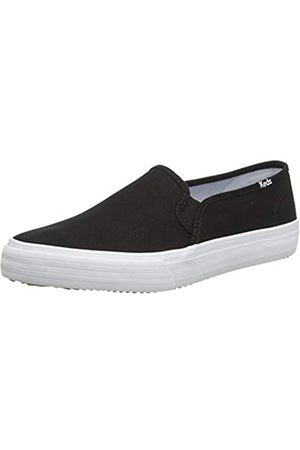 Keds Keds Damen Double Decker Canvas SMU Sneaker, Black