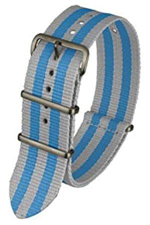 Davis Davis-BNN3BGREY/BLUE - 20-Armband Armbanduhr-Nylon grau