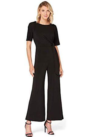 TRUTH & FABLE Amazon-Marke: TRUTH & FABLE Damen Kurzärmeliger Abend-Jumpsuit aus Jersey, 34