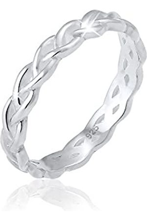 Elli Elli Ring Damen Knoten Unendlich Twisted Trend in 925 Sterling