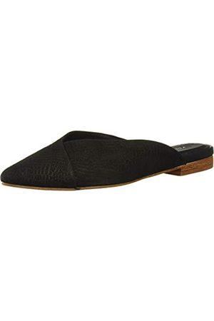 KAANAS Damen BONARDA Crossover Flat Mule Fashion Shoe Hausschuh