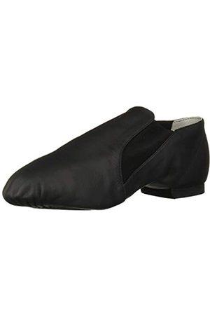 Bloch Dance Damen Elasta Stiefelette Leder und elastische Geteilte Sohle Jazz Schuh