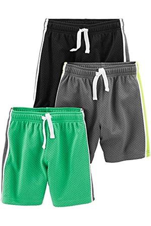 Simple Joys by Carter's Simple Joys by Carter's 3-Pack Mesh Short, Black, Green, Gray, 4T