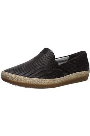 Clarks Clarks Women's Danelly Iris Loafer Flat, Black Leather