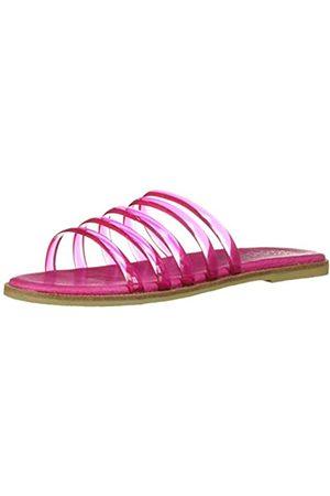 Coolway Damen Meryl Slide Sandale, Pink (Fux)