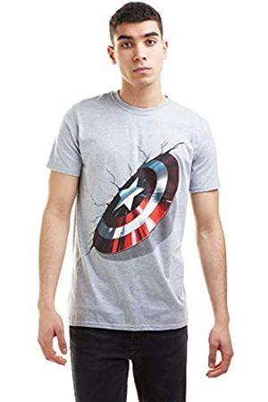 Marvel Marvel Herren 3D Shield T-Shirt