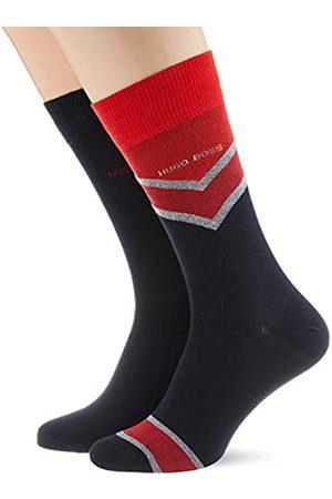 HUGO BOSS Herren 2P RSChevronStripeCC Klassische Socken