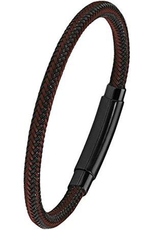 s.Oliver S.Oliver Herren Armband 21cm Edelstahl IP Black schwarz