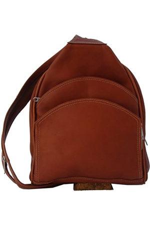 Piel Piel Leather Rucksack Sling (Braun) - 7776