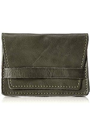 Naniwa Leather Naniwa Leather Tochigi Visitenkartenetui Leder (Khaki) - 4589542632550