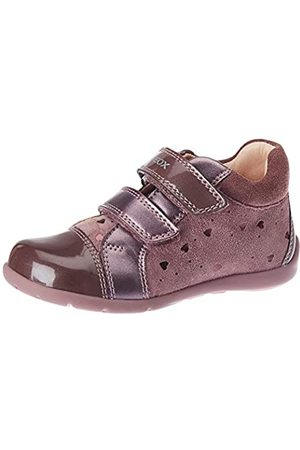 Geox Baby-Mädchen B Kaytan B First Walker Shoe, (Dk Pink)