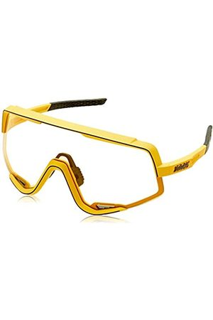 100 Percent 100 Percent Glendale-Soft TACT Mustard-Yellow inkl. Smoke Lens Instead of Standard Spare Clea, Erwachsene, Unisex