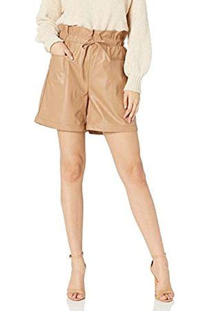 KENDALL + KYLIE KENDALL + KYLIE Damen Paperbag-Shorts aus veganem Leder