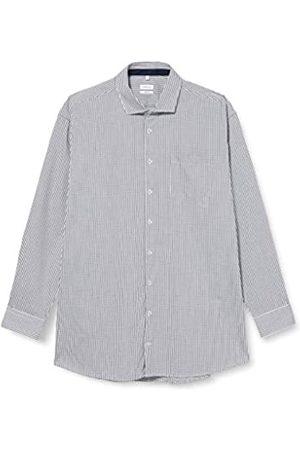 Seidensticker Herren Business - Herren Business Hemd - Bügelfreies Hemd - Comfort Fit - Langarm - Kent-Kragen - Brusttasche - 100% Baumwolle