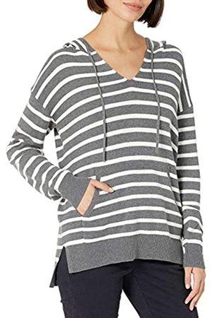 Daily Ritual Ultra-Soft Milano Stitch Drawstring Hoodie Sweater Sweaters