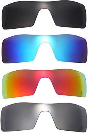 NicelyFit NicelyFit polarisierte Ersatzgläser für Oakley Oil Rig Sonnenbrillen, Glasrahmen