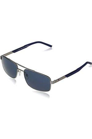 Tommy Hilfiger Herren Sonnenbrillen - Herren TH 1674/S Sonnenbrille, Dunkles Ruthenium
