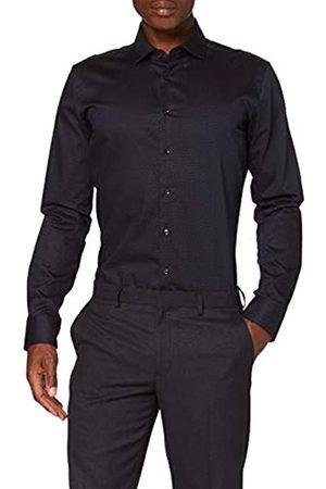 Seidensticker Herren Business Hemd - Bügelleichtes Hemd mit sehr schmalem Schnitt - X-Slim Fit - Langarm - Kent-Kragen - 100% Baumwolle