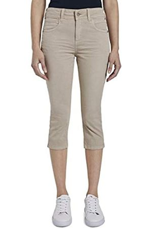TOM TAILOR TOM TAILOR Damen Kate Capri Hose, 11376-Dusty Taupe