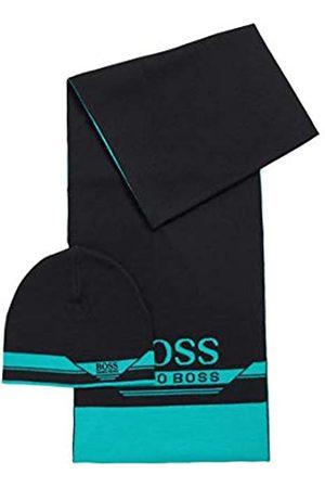 HUGO BOSS Herren Schals - Herren Gift-Set Aura Set aus Schal und Mütze in einer Geschenkbox