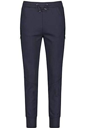 Gerry Weber Gerry Weber Damen Jogpants mit Zipdetails leger Dark Navy 40