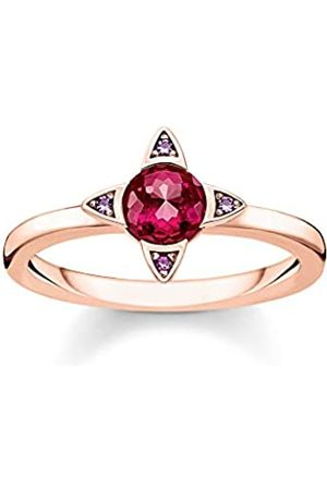 Thomas Sabo Thomas Sabo Damen-Ring Farbige Steine rosé 925 Sterlingsilber roségold vergoldet TR2263-540-10-56