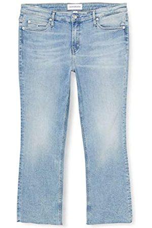 Calvin Klein Calvin Klein Jeans Damen Mid Rise Crop Flare Straight Jeans