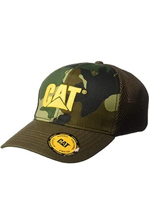 Caterpillar Herren Caps - Herren Acitve Mesh Stretch Baseball Cap, Woodlang/Camouflage