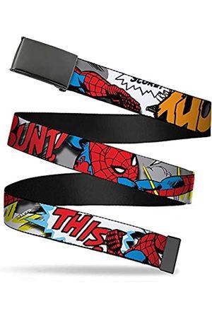"""Buckle-Down Jungen Web Belt Spider-Man 1.25"""" Gürtel"""