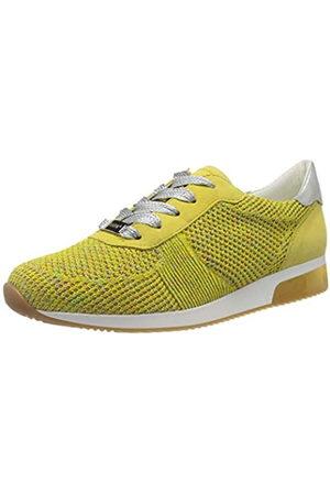 ARA Ara Damen LISSABON Sneaker, Gelb (Candy, Yellow/Weissgold 10)