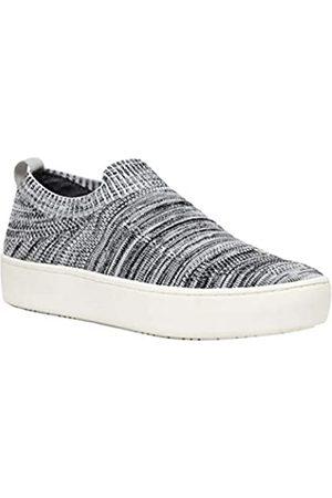 Dunes Dunes Damen Casper Stretch-Strick-Sneaker, weite Weite erhältlich, (Grau/Weiß Multi)